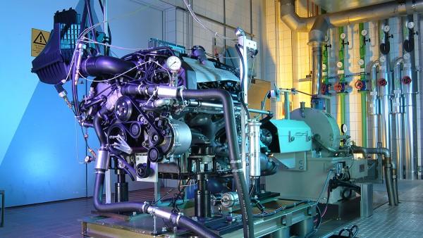 Schaeffler-brancheoplossingen voor motoren en speciale voertuigen: Proefbank voor motoren