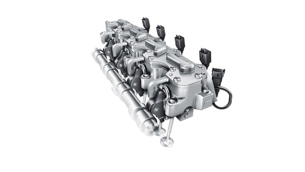 Volledig variabel elektrohydraulisch klepaandrijfsysteem UniAir