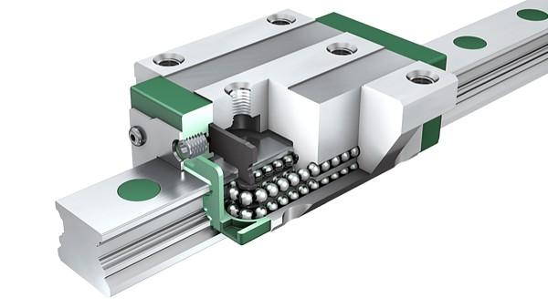Schaeffler-lineairgeleidingen: Vierrijige kogelomloopeenheden