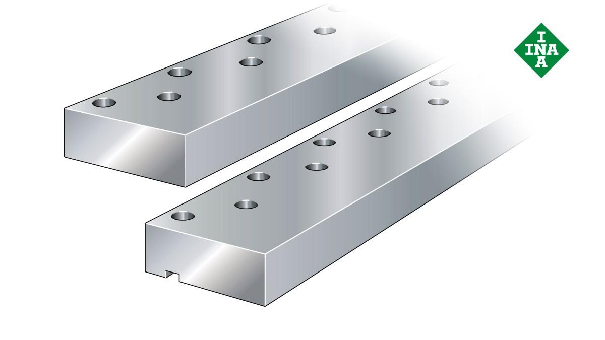 Schaeffler-lineairgeleidingen: Geleidingsrails