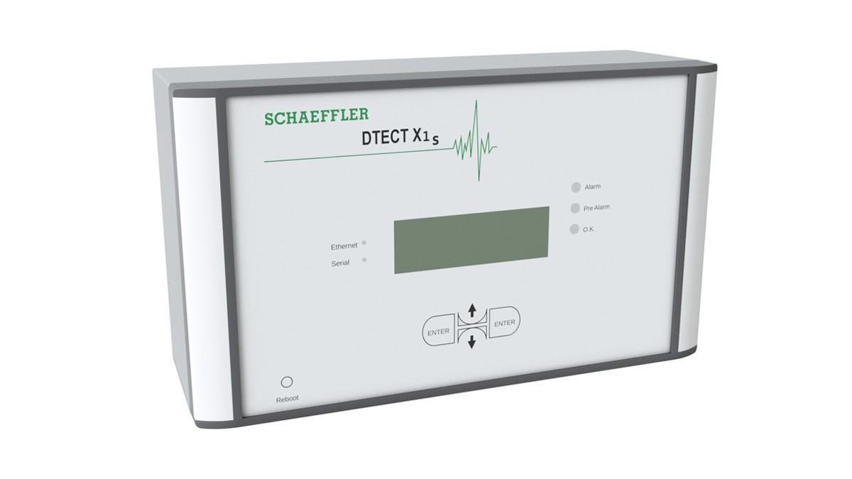 DTECT X1 s is een flexibel online-systeem voor de bewaking van roterende elementen en lementen in de machine- en installatiebranche.