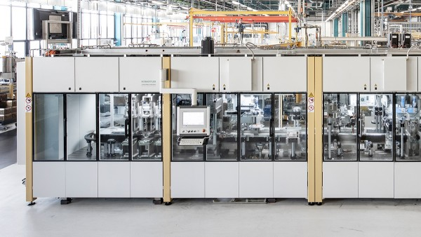 Manufacturing hall at Schaeffler's Special Machinery