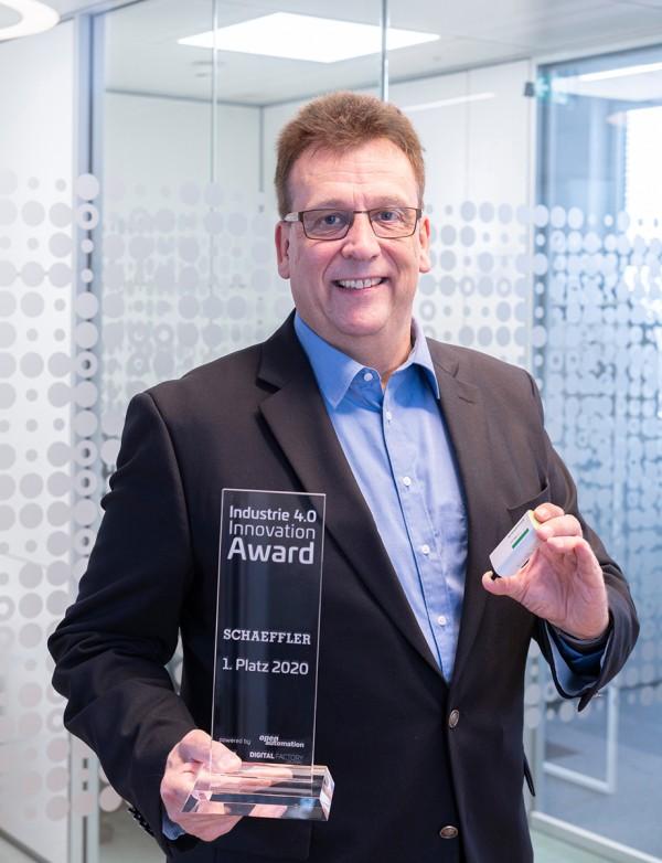 Schaeffler OPTIME is de winnaar van de Industry 4.0 Innovation Award